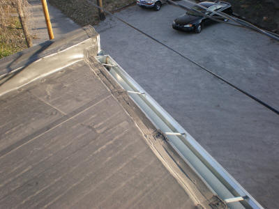 Tapered Gutter - Top View